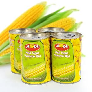 Canned vegetable Delicious Sweet Corn in tins Easy Open Lid