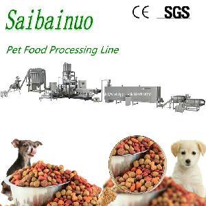 Jinan Saibainuo Quality Pet Food Fish Feed Making Machine
