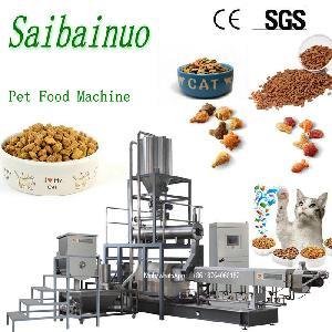 cat dog food pet fish feed making machine