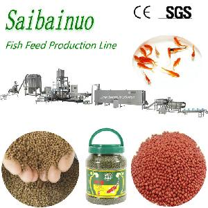 Poultry Animal Feed Pet Food Production Line Floating Fish Feed Pellet Making Machine