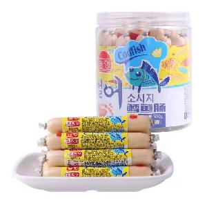 500g cod sausage instant food with cheese flavor