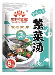 62g seafood Flavor Seaweed Nori Algae soup with FDA