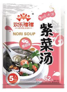62g muchsrooms Flavor Seaweed Nori Algae soup with FDA