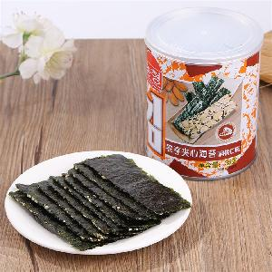 35g Canned Almond Topping Instant Seaweed Snack Foods