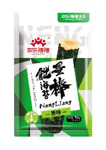 45g Instant Brown Rice Stick Seaweed Food with Hahal