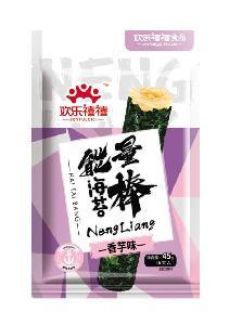 45g Taro Flavor Brown Rice Stick Seaweed Food