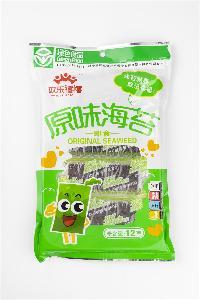 12g Traditional Seasoned Instant Seaweed Kim Snacks for Friends
