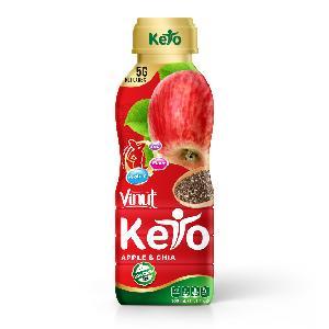 330ml vinut keto diet apple juice with  chia  seed
