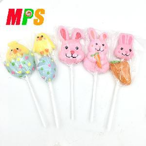 Wholesale colourful sweet creative cartoon shaped lollipop candy