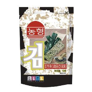 12g Instant Sesame Yummy Topping Seaweed Snack with Koshe
