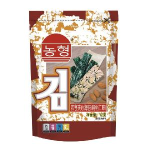12g Instant Almond flavor Topping Seaweed Snack with Koshe