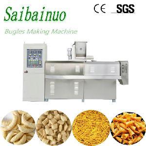 Frying Bugles Machine Salad Chips Rice Crust Making Machine