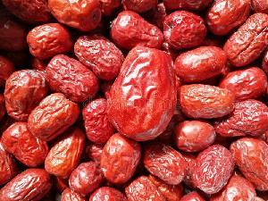 dried fruit fresh sweet red dates jujube