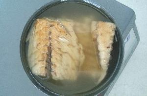 Canned mackerel in oil
