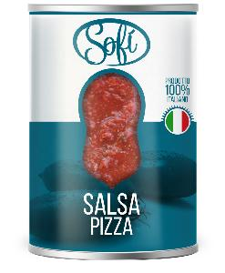 Pizza Sauce with Olive Oil, Tomato Pulp, Peeled Tomatoes, Cherry, Datterini Tomatoes