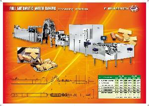 WAFER BAKING MACHINE PRODUCTION LINE