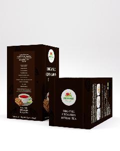 Organic Ceylon Cinnamon with Black Herbal Tea