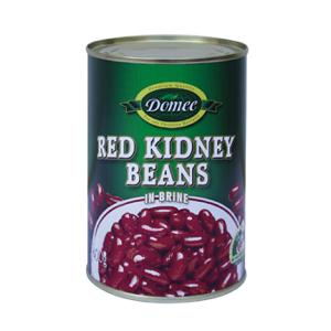 Canned red  kidney   beans  in brine