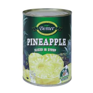 Canned   pineapple   slice d