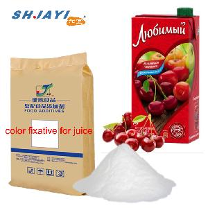 Food Grade Color Protector Fixative Compound Antioxidative Stabilizer For Cherry Juice Beverage