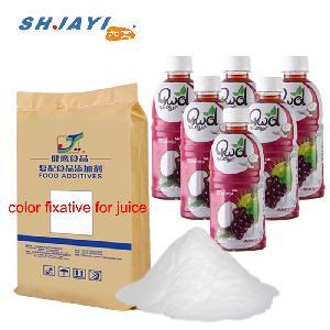 Food Grade Color Protector Fixative Compound Antioxidative Stabilizer For Grape Juice Beverage