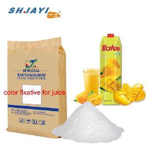 Food Grade Color Protector Fixative Compound Antioxidative Stabilizer For Mango Juice Beverage