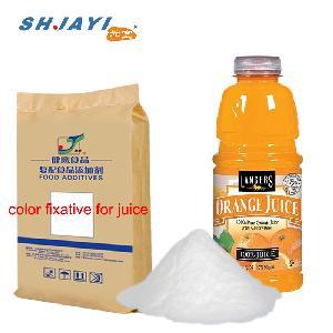 Food Grade Color Protector Fixative Compound Antioxidative Stabilizer For Orange Juice Beverage