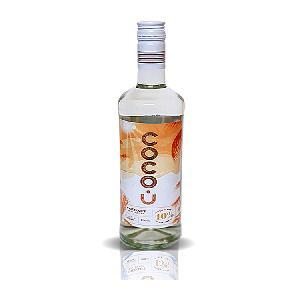 Glass Bottle Coconut Rum