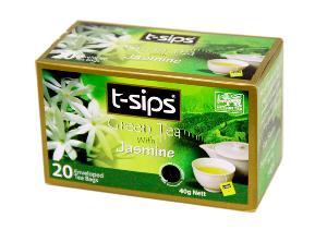 Jasmine Green Tea - teabags