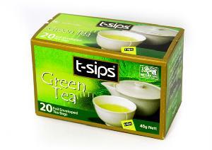 Green tea teabag