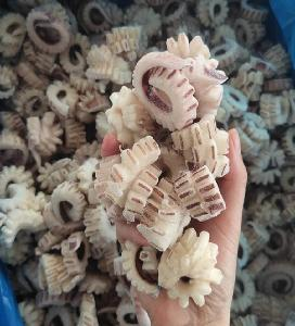 Frozen Cooked IQF Squid Wing Flower