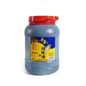 In bulk factory supply 6kg oyster sauce