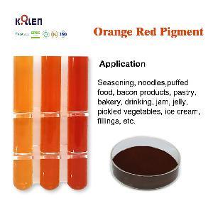 Orange Red Pigment