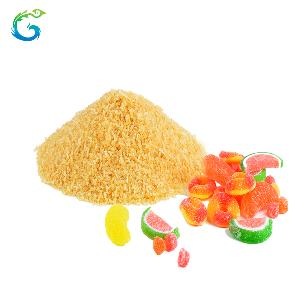 Edible Gelatin High Jelly Strength Beef Skin Gelatin